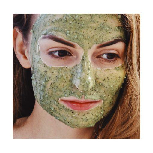 de la Mer peel off face mask
