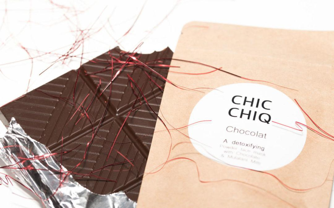 Our New Chocolat Facemask, Free For the Holidays