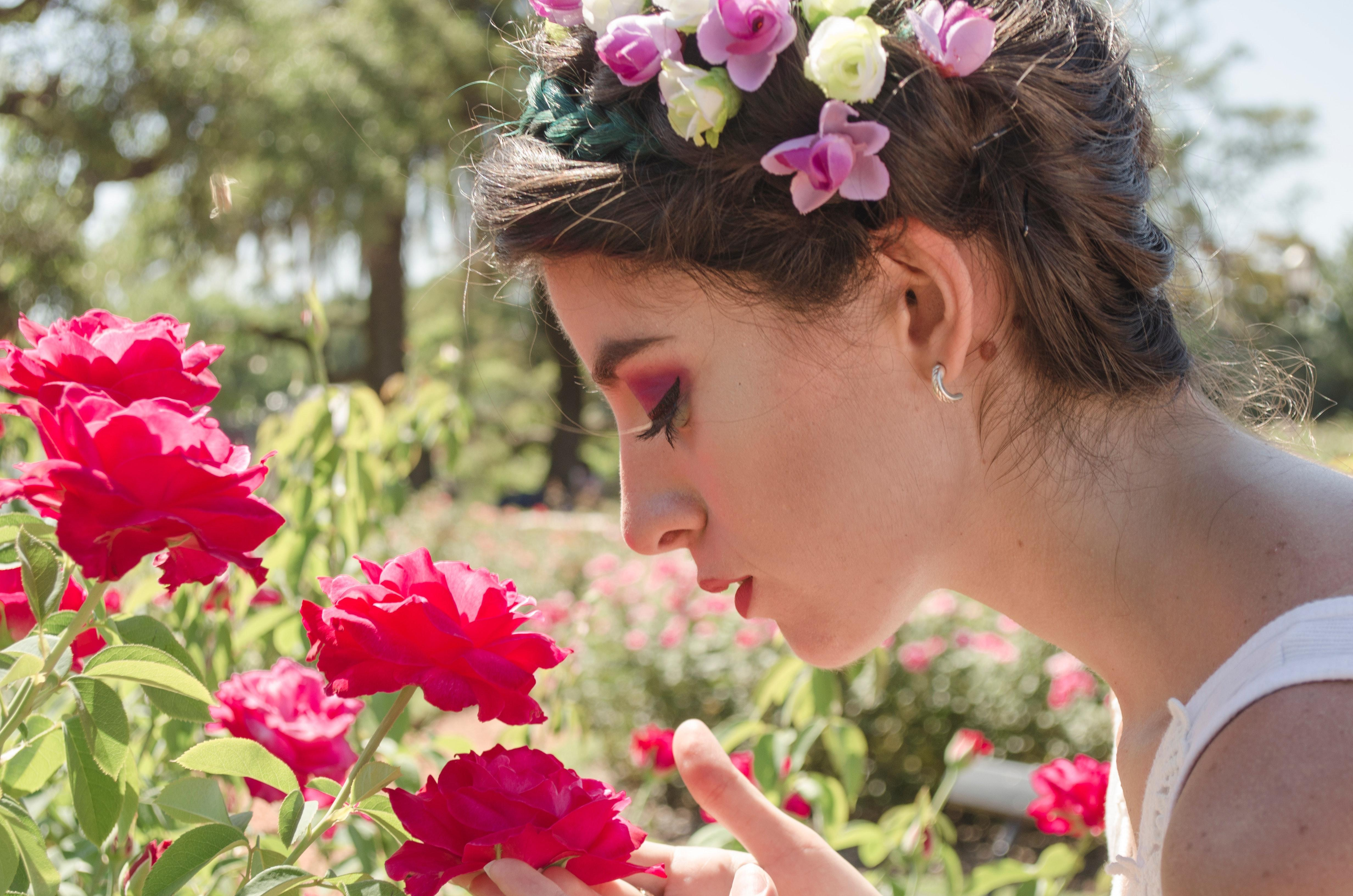 flowers and plants for skincare and haircare
